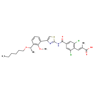 2D chemical structure of 1110766-97-6