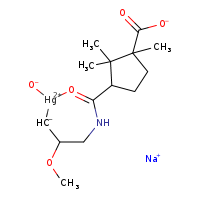 2D chemical structure of 124-82-3