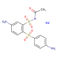 2D chemical structure of 128-12-1