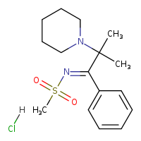 2D chemical structure of 13430-14-3