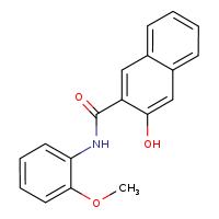 2D chemical structure of 135-62-6