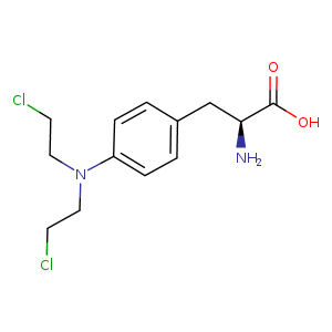 2D chemical structure of 148-82-3
