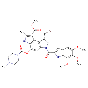 2D chemical structure of 154889-68-6