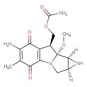 2D chemical structure of 50-07-7