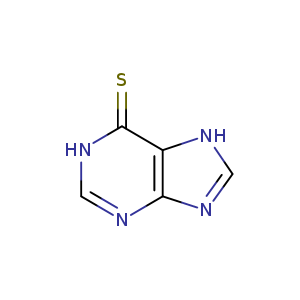 2D chemical structure of 50-44-2