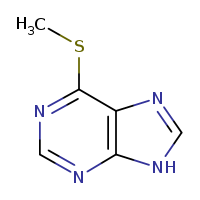 2D chemical structure of 50-66-8