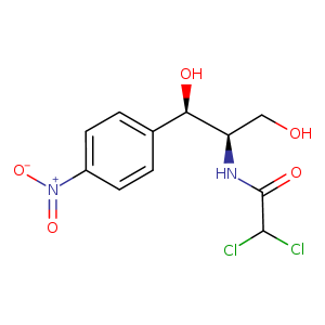 2D chemical structure of 56-75-7