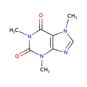 2D chemical structure of 58-08-2