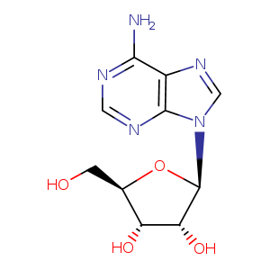 2D chemical structure of 58-61-7