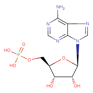 2D chemical structure of 61-19-8