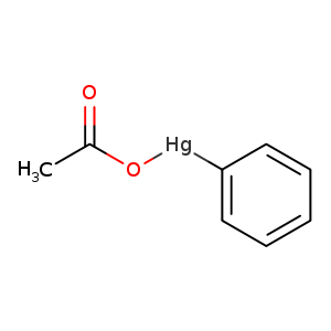 2D chemical structure of 62-38-4