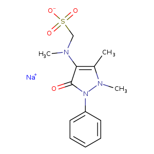 2D chemical structure of 68-89-3