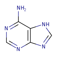 2D chemical structure of 73-24-5