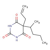 2D chemical structure of 76-73-3