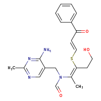 2D chemical structure of 7631-61-0