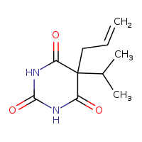 2D chemical structure of 77-02-1