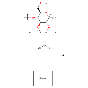 2D chemical structure of 9004-35-7